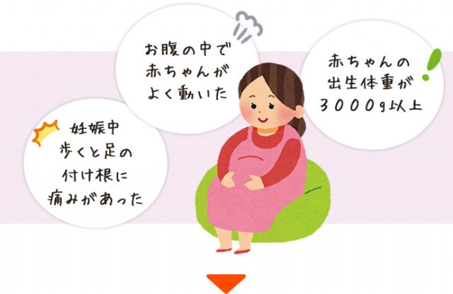 妊娠中の女性イラスト